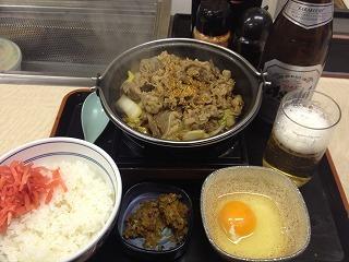 140427吉野家「牛すき鍋定食」.jpg