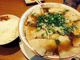 150927チャーシュー麺定食大@二両半(布施).jpg